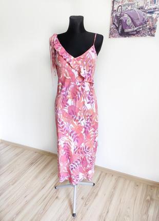 Роскошный винтажный сарафан в бельевом стиле комбинация