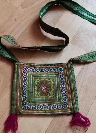 Акция 🌹вышитая сумка маленькая кошелек