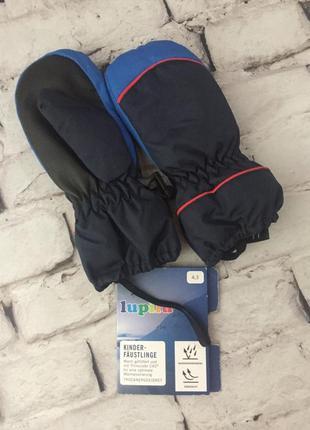 Горно лыжные рукавицы детские перчатки варежки