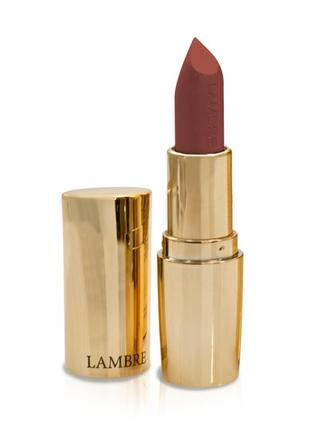 Класична напівматова помада classic exclusive colour #103 (сад троянд) lambre
