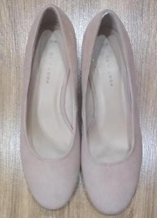 Модные новые женские туфли new look, 37р.