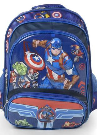 Школьный рюкзак для мальчиков человек америка 3421-9