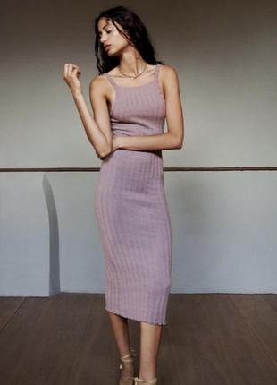 Стильна сукня zara нова колекція
