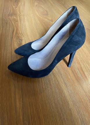 Туфли замшевые kacharovska
