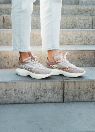 Nike vista lite beige 🆕 женские кроссовки найк виста 🆕 белый/бежевый