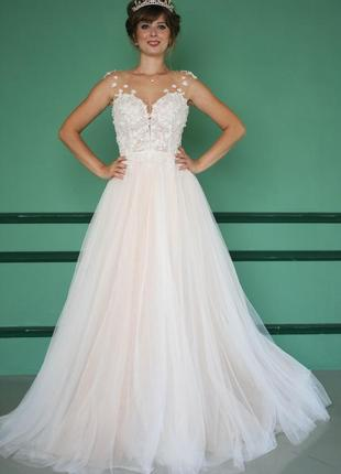 Свадебное платье. люкс платье свадебное. весільна сукня.шикарное свадебное платье