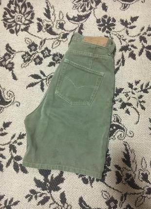 Шорты джинсовые бермуды винтаж стильные