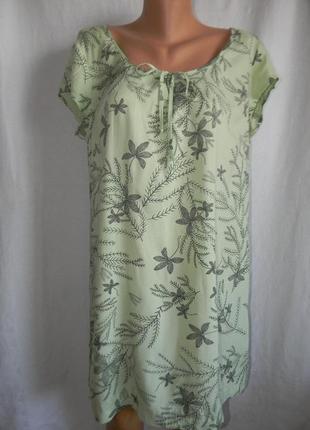 Натуральное платье туника