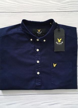 Мужская футболка поло рубашка lyle & scott