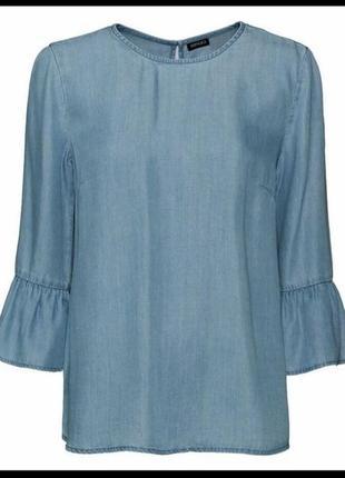 Блуза женская тонкий коттон esmara германия размер 42 евро