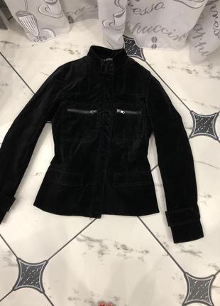 Велюровая курточка morgan