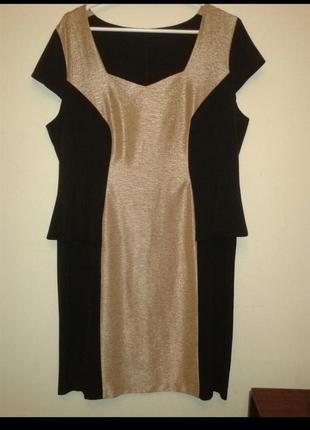 Красивое платье большого размера батал