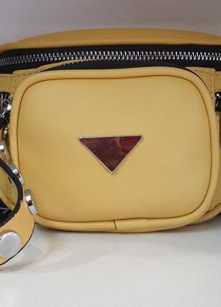 Мега стильная женская сумочка belt bag сумка на пояс бананка кроссбоди