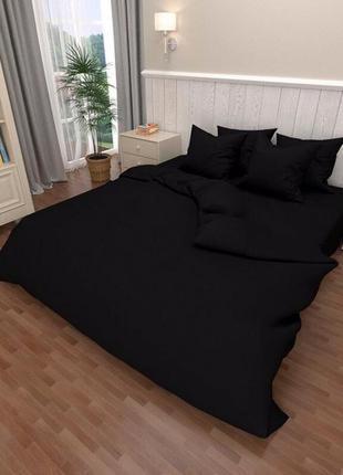 Постельное бязь голд люкс черное