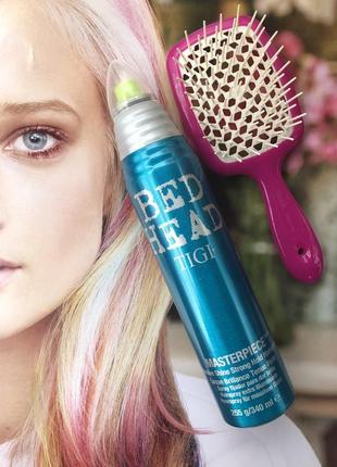 Лак для волос с интенсивным блеском tigi  masterpiece massive shine hairspray 340 мл