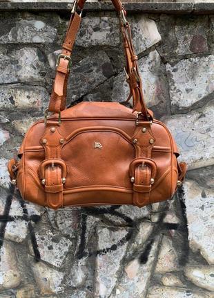 Шкіряна сумочка burberry