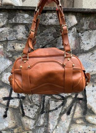 Шкіряна сумочка burberry2 фото
