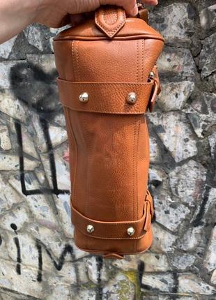 Шкіряна сумочка burberry5 фото