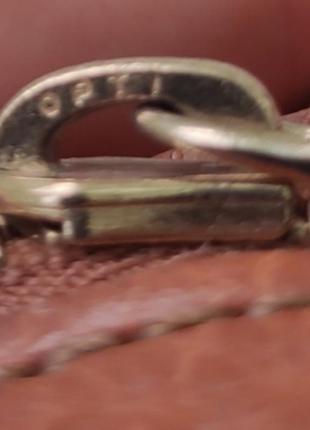 Шкіряна сумочка burberry6 фото
