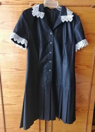 Красивое платье для школьницы