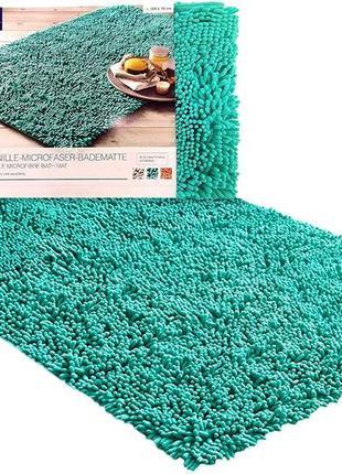 Антискользящий мягкий коврик для ванной 72х120 тсм tchibo.