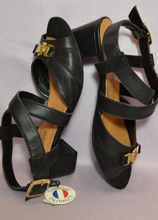 Di fontana франция оригинал! легкие босоножки сандалии повышенного комфорта, натурал кожа