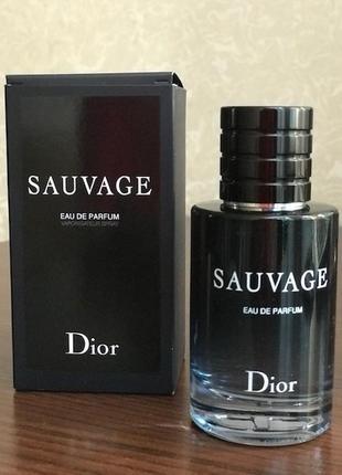 Парфюмированна вода dior sauvage, 60 мл