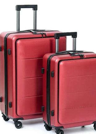Комплект валіз. abs пластик