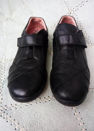 Туфли кроссовки кожа