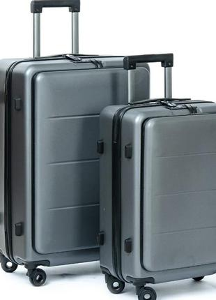 Комплект з валіз. abs пластик