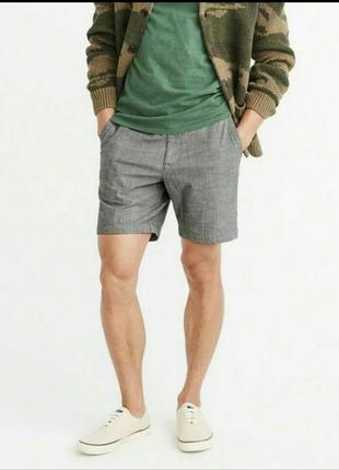 Легкие, стильные, удобные и комфортные серые шорты crane с технологией techtex