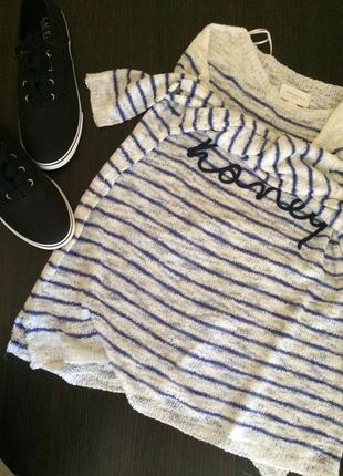 Легкий свитер свитшот 🍋🍋🍋 италия 🇮🇹 оверсайз oversize
