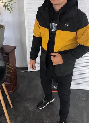 Куртка ветровка в стиле ua hvz 16030