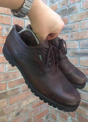 Туфли, полуботинки lloyd vaduz gore-tex размер 46 (30 см.)
