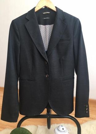 Легкий шерстяной пиджак marc o`polo