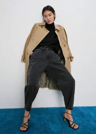 Графітові джинси-банани / мешковатые джинсы
