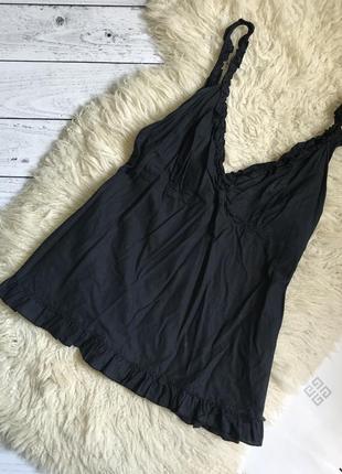 Блуза майка натуральная ткань базовая