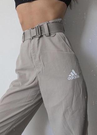 Брюки штаны спортивные повседневные с высокой посадкой