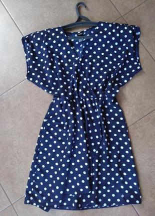 Супер платье в горошек нм
