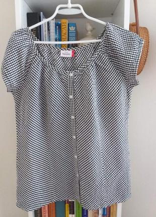Женственная блуза.