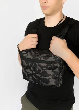 Нагрудная сумка intruder + фирменная ключница в подарок