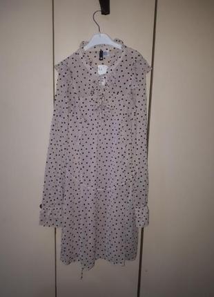 Нежное легкое платье h&m