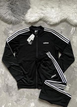 Мужской спортивный костюм adidas 3-stripes оригинал! из сша