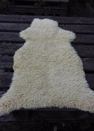 Натуральная овечья шкура шерстяной ковер