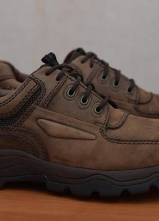 Коричневые кожаные ботинки, кроссовки, туфли clarks, 43 размер. оригинал