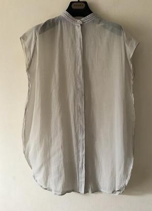 Brunello cucinelli батистовая блуза