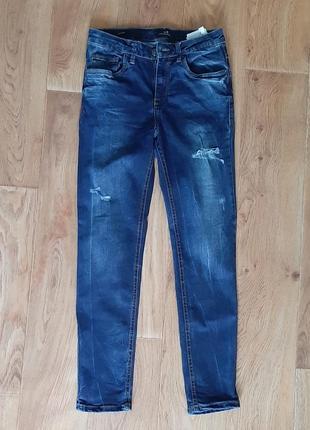 Стильные джинсы с высокой талией