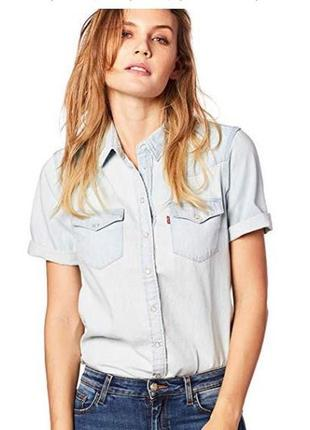Рубашка женская levi's. оригинал