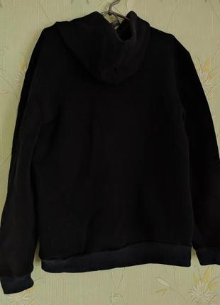 Сине-черный утепленный спортивный костюм