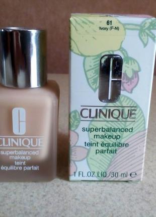 Элитный тональный крем сlinique superbalanced makeup